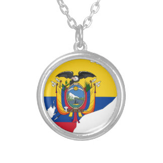Ecuador Silver Plated Necklace