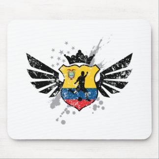 Ecuador soccer mouse pad