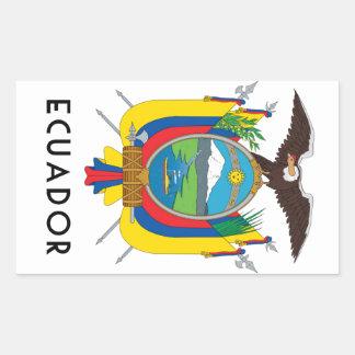 Ecuador - symbol/coat of arms/flag/colors/emblem sticker