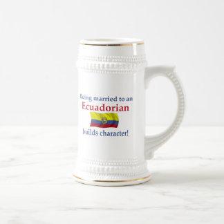 Ecuadorian Builds Character Mug