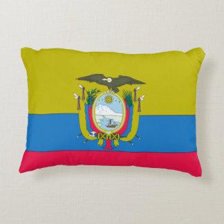 Ecuadorian flag decorative pillow
