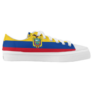Ecuadorian Flag Low-Top Sneakers