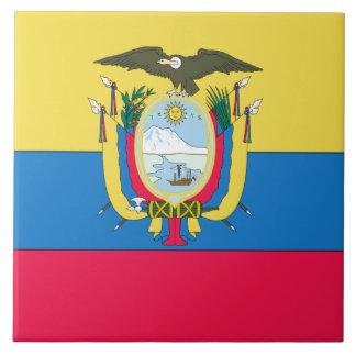 Ecuadorian flag tile