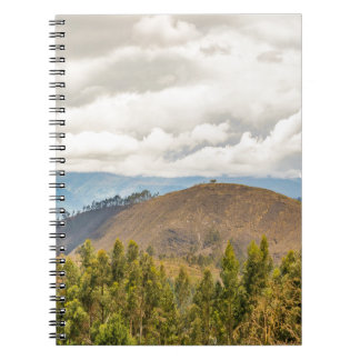 Ecuadorian Landscape at Chimborazo Province Note Books