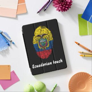 Ecuadorian touch fingerprint flag iPad air cover
