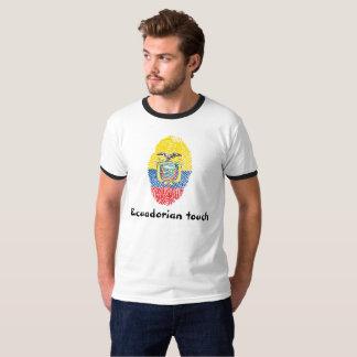 Ecuadorian touch fingerprint flag T-Shirt