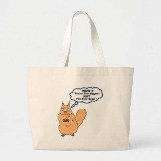 Écureuil complètement sac en toile jumbo