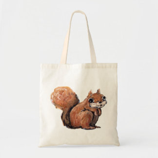 Écureuil effrayé sac