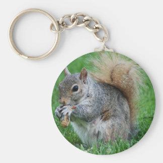 Écureuil gris Keychain
