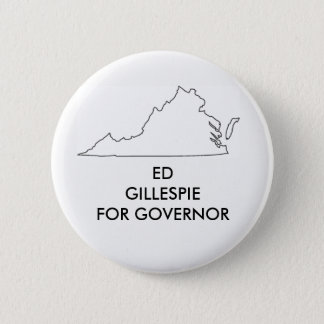 Ed Gillespie for Virginia Governor 2017 2 Inch Round Button