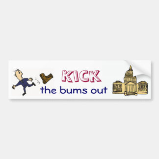 ED-  Kick  the bums out of Congress sticker