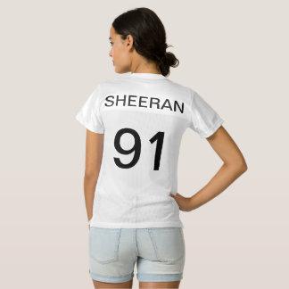 Ed Sheeran jersey shirt 1991 with paw