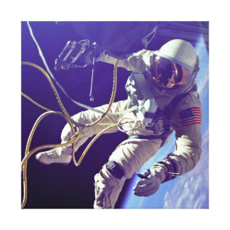 Ed White First American Spacewalker Photograph Canvas Prints