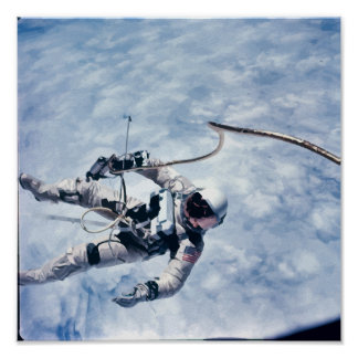 Ed White Space Walk Art Print