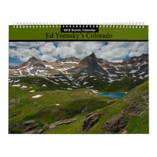 Ed Yoensky's Colorado 2016 Scenic Calendar