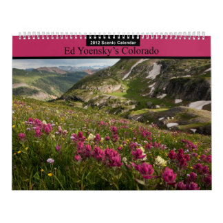 Ed Yoensky's Colorado Wall Calendars