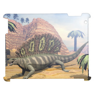 Edaphosaurus dinosaur - 3D render Case For The iPad 2 3 4