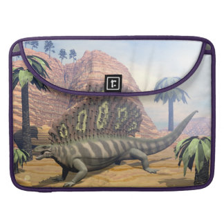 Edaphosaurus dinosaur - 3D render Sleeve For MacBooks