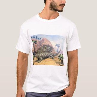 Edaphosaurus dinosaur - 3D render T-Shirt