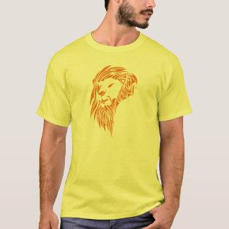 EDDIE ANDERSON ART :LEO in orange T-Shirt