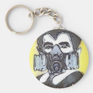 Eddie Basic Round Button Keychain