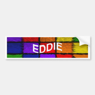 EDDIE BUMPER STICKER