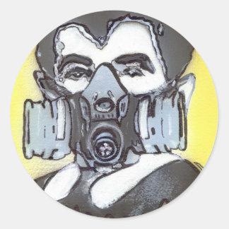 Eddie Classic Round Sticker