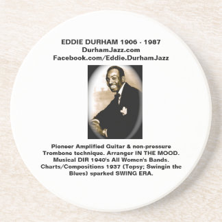 Eddie Durham custom sand stone decorative Coasters