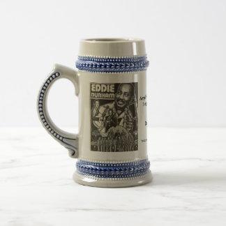 EDDIE DURHAM stein (very large mug)