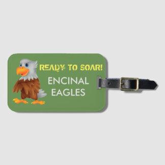 Eddie Eagle Luggage Tag