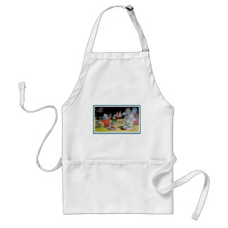 Eddie Elephant and Friends Standard Apron