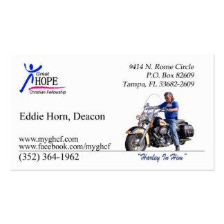 Eddie Horn Business Card