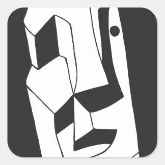 Eddie Price - AKA opitz Square Sticker