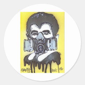 Eddie Round Sticker