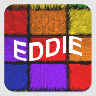 EDDIE SQUARE STICKER