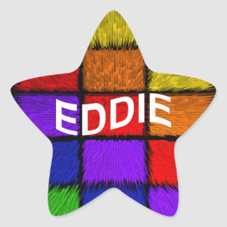 EDDIE STAR STICKER