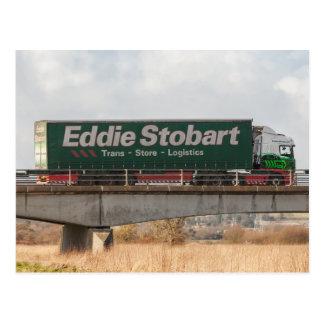 Eddie Stobart truck postcard