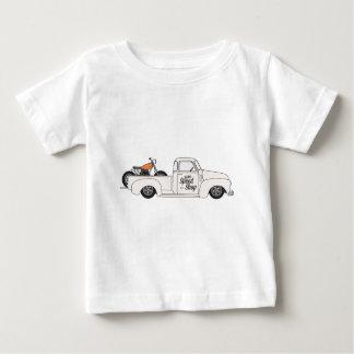 Eddies Speed Shop truck and bike Baby T-Shirt