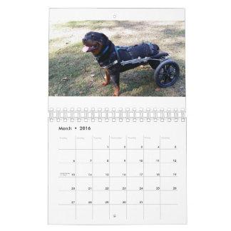Eddie's Wheels 2016 Wall Calendars