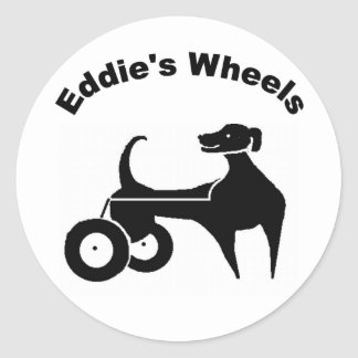 Eddie's Wheels Small Sticker