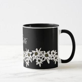 Edelweiss Flower Mug