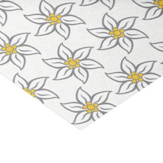 Edelweiss Flower Tissue Paper