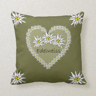 Edelweiss Heart American MoJo Pillow