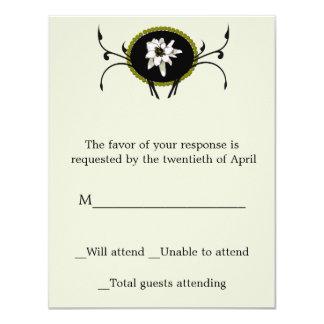 Edelweiss RSVP Card