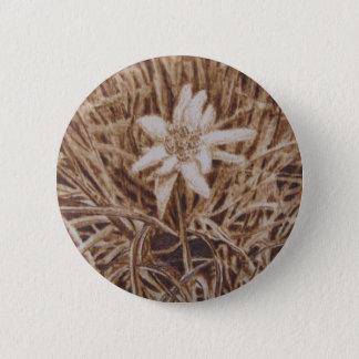 Edelweiss - Stella Alpina 2 Inch Round Button