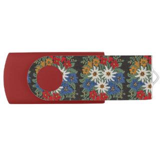 Edelweiss Swiss Alpine Flower USB Flash Drive