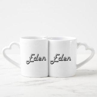Eden Classic Retro Name Design Lovers Mugs