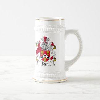 Eden Family Crest Mugs