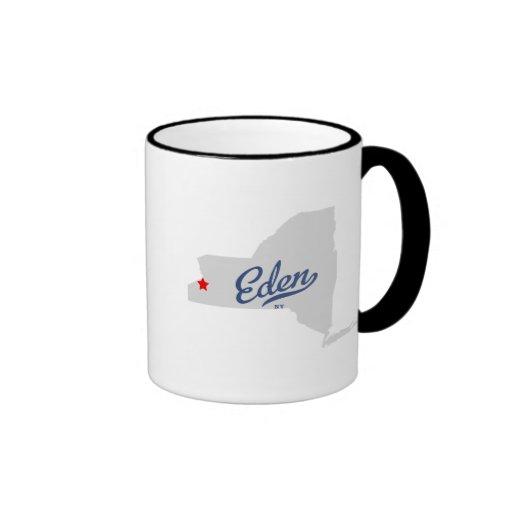 Eden New York NY Shirt Coffee Mugs