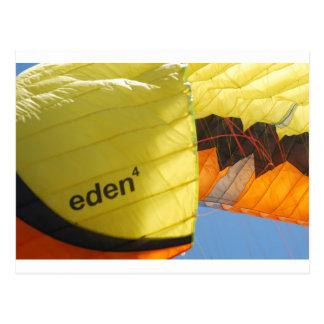 Eden Parachute Postcard